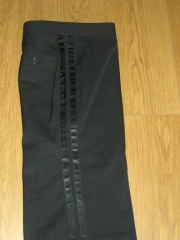 Toastmaster High Waist Trouser,exclusive ready to wear stock full tradition cut, twin